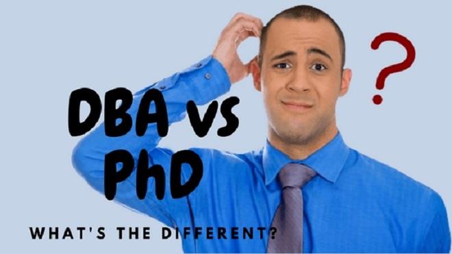 DBA چیست تفاوت phD و DBA