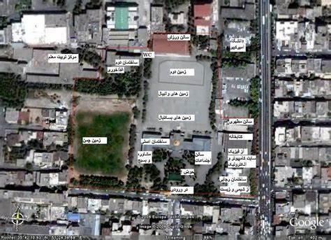 نقشه دبیرستان البرز