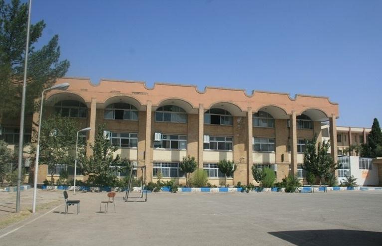 محوطه دانشگاه فرهنگیان کرمان