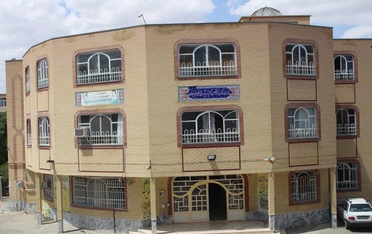 ساختمان اداری دانشگاه فرهنگیان تربت حیدریه
