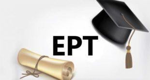 زمان جدید برگزاری آزمون EPT
