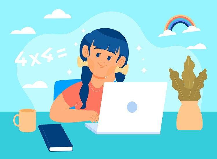 آزمون آنلاین در برنامه شاد