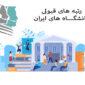 رتبه های قبولی دانشگاه ایران